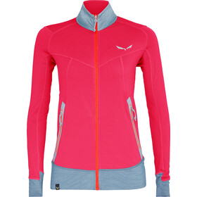 SALEWA Pedroc Polartec Sweat à capuche zippé Femme, rose red